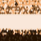 Padrão geométrico de losango colorido — Vetor de Stock