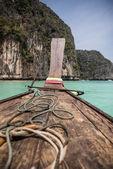 Ko Phi Phi long tail boat — Stock Photo