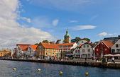 Skagenkaien kai von stavanger, norwegen — Stockfoto