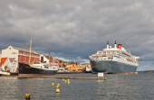 In the port of Stavanger, Norway — Stock Photo