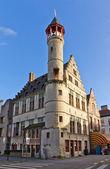 Tanners guild house Toreken (1450). Ghent, East Flanders, Belgiu — Stock Photo