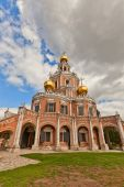 Church of the Intercession at Fili (1694) in Moscow, Russia — Stock Photo