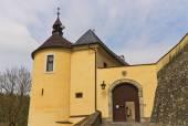 Ingresso del castello di shternberk chesky (1241) in repubblica ceca — Foto Stock