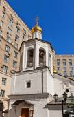 Belfry of church of Michael the Archangel (1662) in Moscow, Russ — Stock Photo