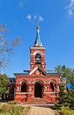 Intercession of Theotokos church (1896). Osechenki, Russia — Stock Photo