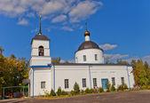 Nativity of the Theotokos church (1836). Osechenki, Russia — Stock Photo