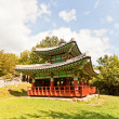 Seojangdae Pavilion of Dongnae castle in Busan, Korea — Stock Photo #54823861