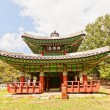 Seojangdae Pavilion of Dongnae castle in Busan, Korea — Stock Photo #54823881