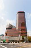 Skyscraper (1985) of Samsung Life Insurance in Seoul  — Stock Photo