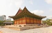Junghwajeon Hall (1902) of Deoksugung Palace in Seoul, Korea — Stock Photo