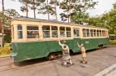 Electric streetcar No 381 (circa 1930)  in Seoul, Korea  — Stock Photo