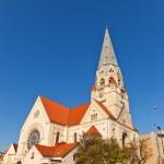 Lutheran Church of Saint Matthew (1928) in Lodz, Poland — Stock Photo #60196281