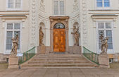 Entrance of Myslewicki Palace (1779) in Warsaw, Poland — Stock Photo