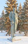 Monument to Maxim Gorky. Moscow, Russia — Stock Photo