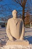 Monument to Leonid Ilyich Brezhnev. Moscow, Russia — Stock Photo