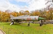 Soviet supersonic jet fighter aircraft MiG-21 — Stock Photo