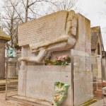 Tomb of Oscar Wild in Paris — Stock Photo #66793467