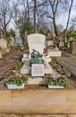 Grave of Armand Fernandez in Paris — Stock Photo