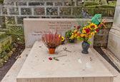 Grave of Michel Petrucciani in Paris — Stock Photo