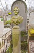 Могила Евгения Boime-Simon в Париже — Стоковое фото