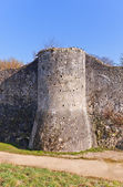 Tower (XIII c.) of ramparts in Provins France. UNESCO site  — Stock Photo