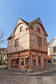 Fachwerk style medieval house in Provins, France — Stock Photo