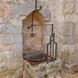 Well of Saint-Quiriace Collegiate church in Provins France — Stock Photo #71409549