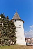Southeast round tower (XVI c.) of Kazan Kremlin, Russia — Stock Photo