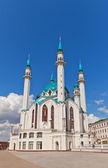 Qol Sharif  Mosque in Kazan Kremlin, Russia. UNESCO site — Stock Photo