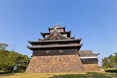 Matsue castle (1611) in Matsue, Shimane prefecture, Japan — Stock Photo