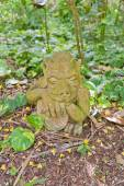 Sculpture of a demon in QE II Botanic Park, Cayman Islands — Stockfoto
