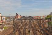 Centralstationen i Prag, Tjeckien — Stockfoto