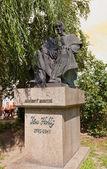 Jan Holly socha v Bratislavě — Stock fotografie