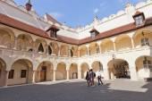 Inner yard of Old Town Hall in Bratislava, Slovakia — Stock Photo