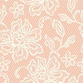 Vieux transparente ajourée avec fleurs ornementales. — Vecteur