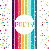 Holiday celebration background design for party invitation. — Stock Vector