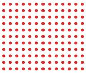 Pattern of red dots — Stock Photo