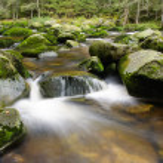Mountain river waterfall — Stock Photo #54177071