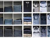 Clothes in the shop — Stock Photo