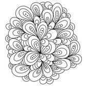 Hand drawn abstract illustration — Stock Vector