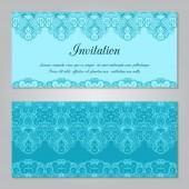 Invitation template — Stockvektor