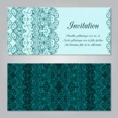 Invitation template — Stock Vector