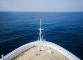 Front view of cruise deck — Stock Photo