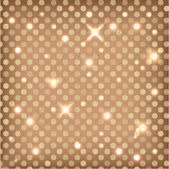 Background with polka — Stock Vector