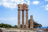 acropolis rhodes — Stockfoto