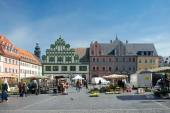 Market Square, Weimar, Germany — Stock Photo