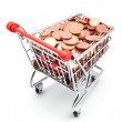 Shopping cart — Stock Photo #54496129