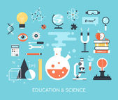 Education and Science — Stock Vector