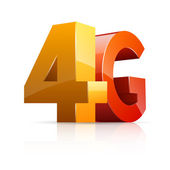4G Icon. — Stockvektor