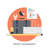 Project management — Stock Vector